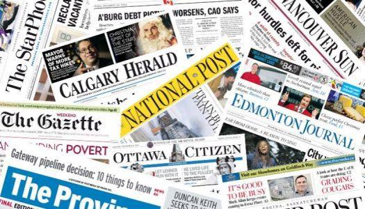 Postmedia revenue down 8 per cent in first quarter