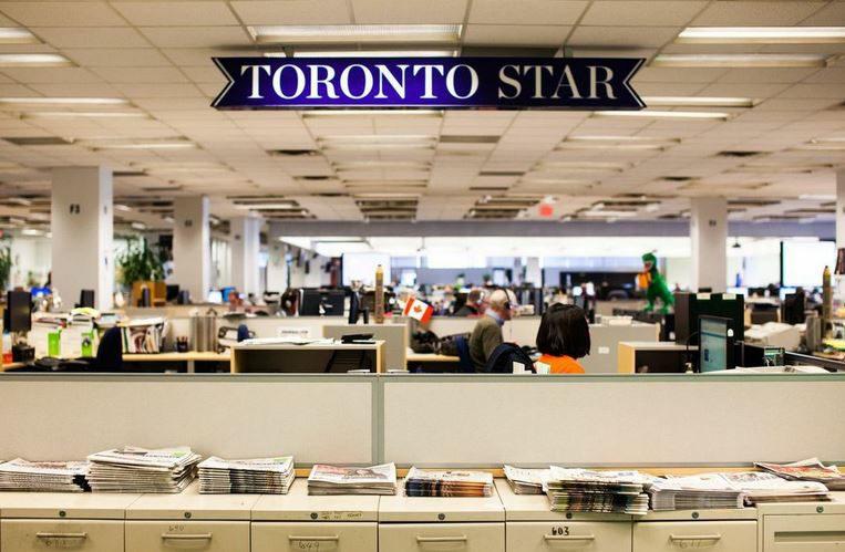 Toronto Star newsroom.JPG