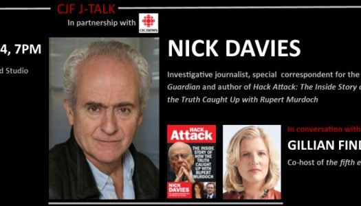 Win tickets to see Nick Davies