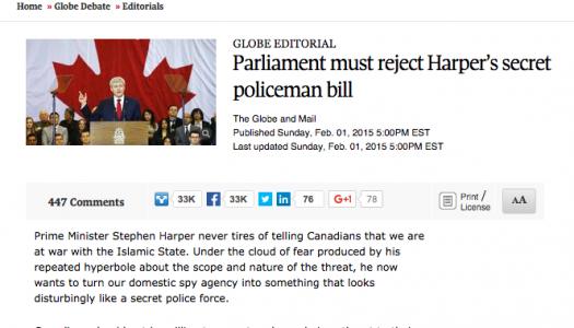 News media played key role in scrutinizing anti-terror legislation, new research shows