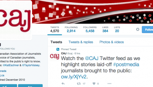 CAJ highlights the stories laid-off Postmedia journalists told