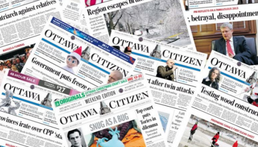 12 buy-outs confirmed at the Ottawa Citizen