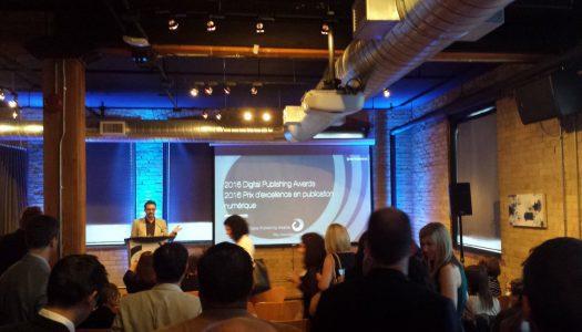Winners of inaugural Digital Publishing Awards announced