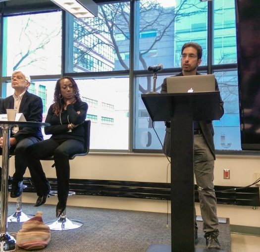 Journalism Transformations, a recent colloquium organized by the Ryerson Journalism Research Centre. Photo courtesy Ilina Ghosh.