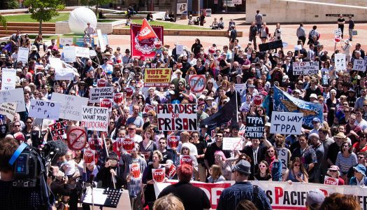 Anti-TPP day of action highlights threat to journalism
