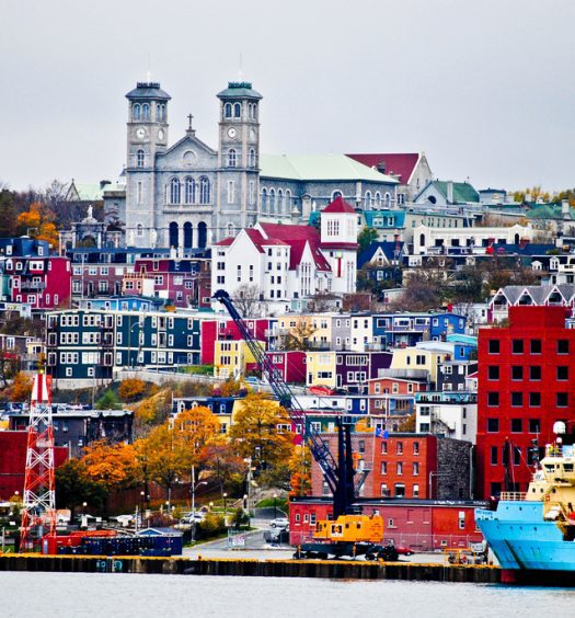 St. John's, Newfoundland. You won't find the Globe and Mail or the National Post here. Photo courtesy Asmaa Dee/CC BY-NC-ND 2.0.