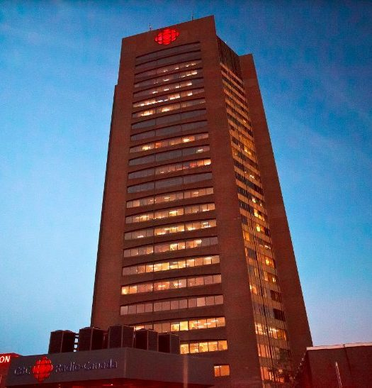 Maison Radio-Canada in Montreal. Photo courtesy Shaun Michaud.