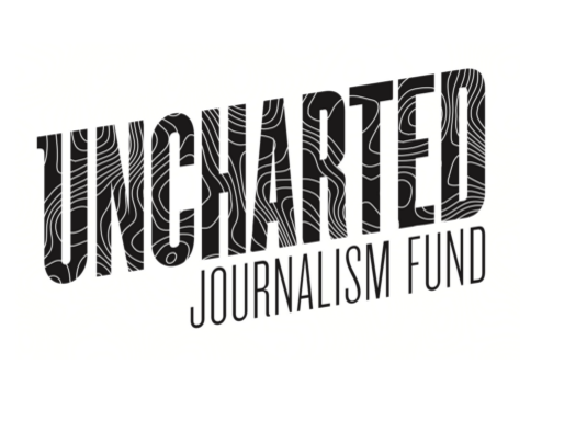 """Uncharted Journalism Fund will provide $3,000 whole or partial grants four times a year, with the aim of supporting """"adventurous"""" storytelling projects. Screenshot by J-Source."""