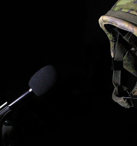 Do journalists and soldiers know what they don't know about each other? Image courtesy of Leah Woolley.