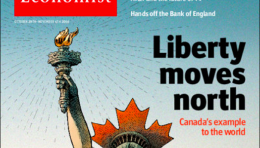 How Canada ended up on the cover of The Economist