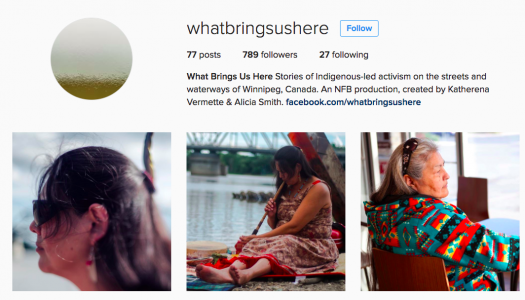 NFB Instagram project brings Indigenous stories to the mobile screen