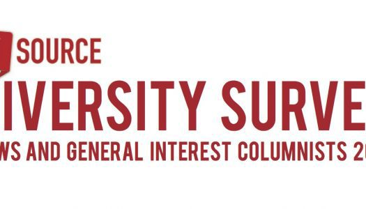 Updated columnist diversity survey shows representation has not improved since 2014