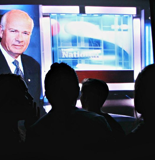 How will Peter Mansbridge be remembered by Canadians? Photo courtesy Charmaine Millaire.