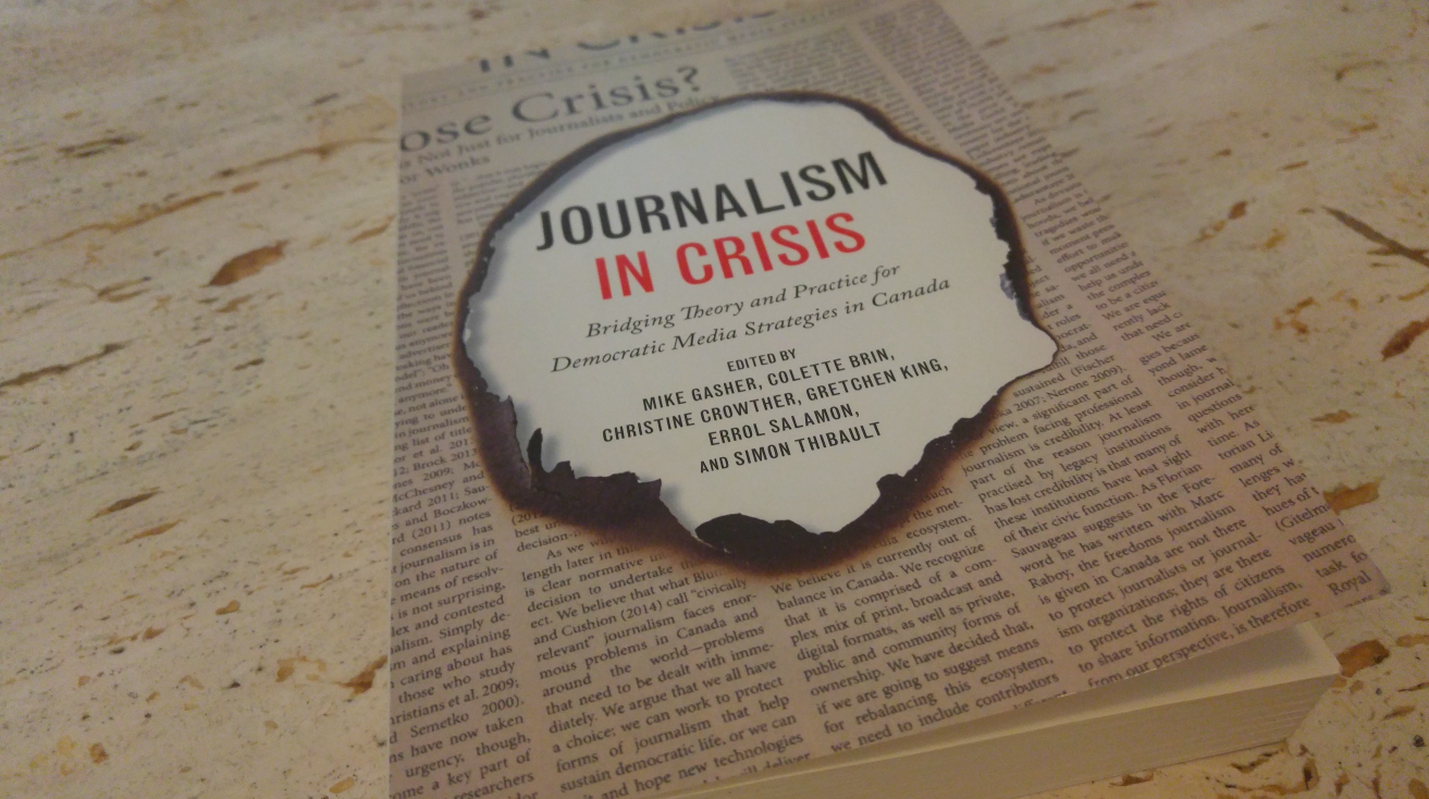 Journalism in Crisis explores different strategies for change. Photo courtesy of H.G. Watson.