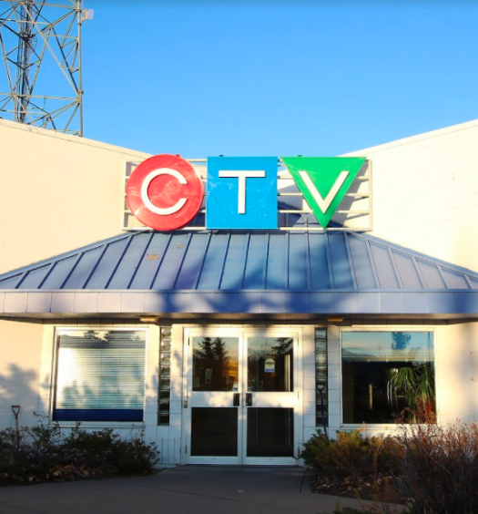 CTV Calgary was among the stations that had local sports news coverage cut this month. Photo courtesy of Kassidy Christensen.