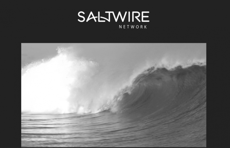 """The owners of the Chronicle Herald formed a new ownership group called SaltWire Network, derived from, """"combining the essential element of Salt, which represents the sea that surrounds us, and Wire, a tool that connects and binds."""" Screenshot by J-Source."""
