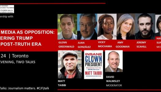 Live Blog: The media as opposition