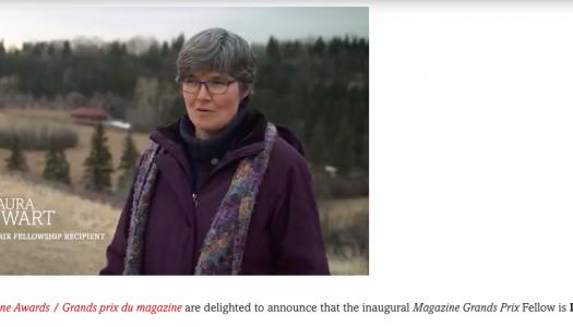 First Magazine Grands Prix Fellow starts at Briarpatch magazine