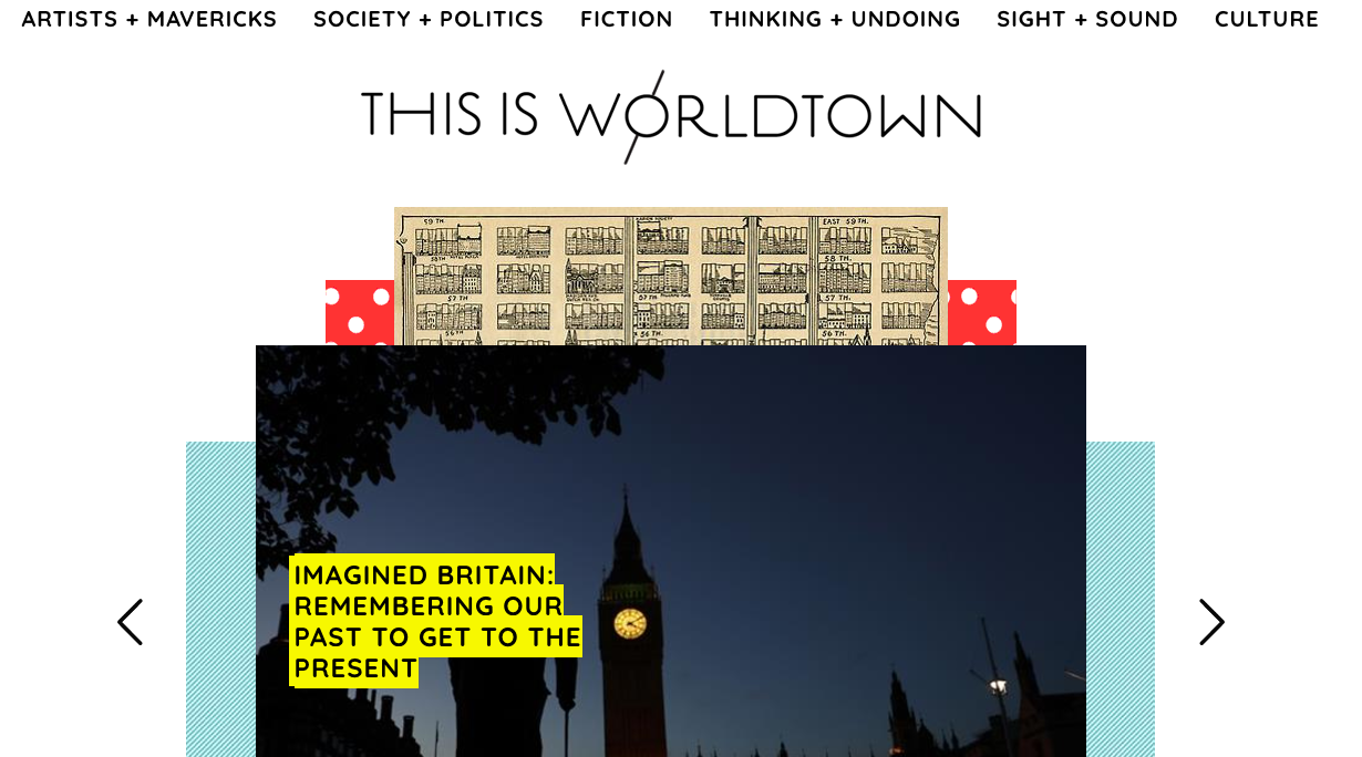 """Founder Sana Malik says This is Worldtown is about """"people who want to express themselves."""" Screenshot by J-Source."""