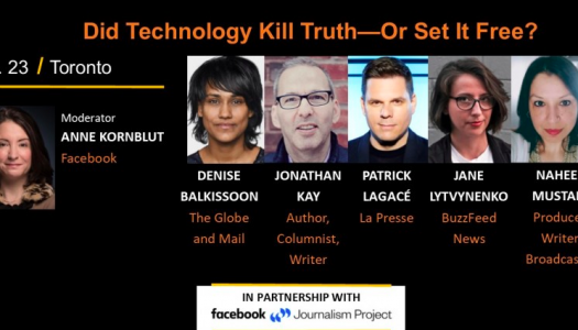 Live Blog: Did technology kill truth—or set it free?