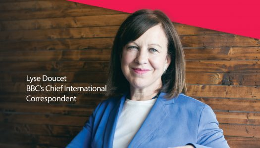 1st Annual Peter Stursberg Foreign Correspondents Lecture featuring the BBC's Lyse Doucet