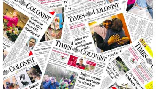 Times Colonist cuts four staff just weeks after call for voluntary resignations