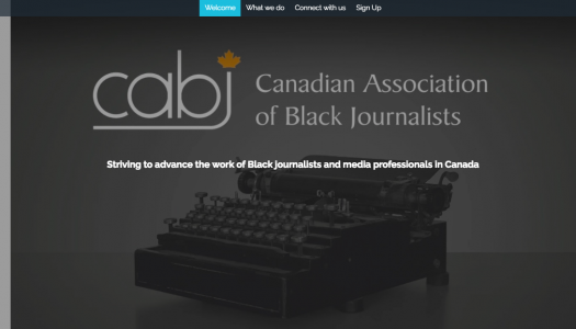 The Canadian Association of Black Journalists is relaunching