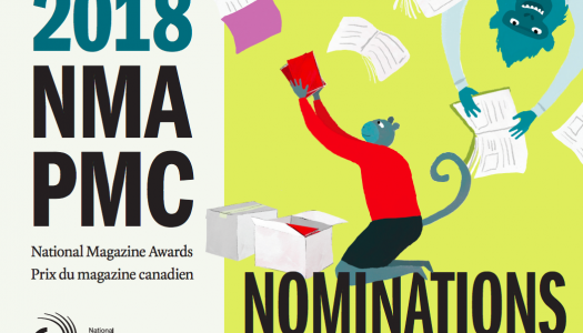 Finalists for 2018 National Magazine Awards announced