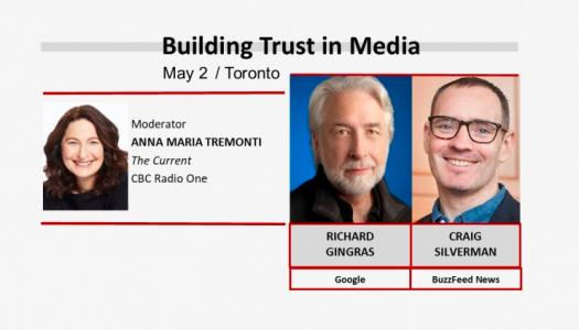 Live blog: Building trust in media