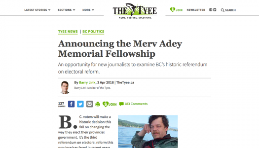 Bloggers and commenters fund a journalism fellowship on behalf of one of their own