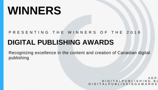 Winners of 2018 Digital Publishing Awards announced