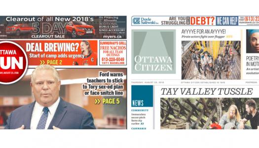Ottawa Citizen, Sun union vote in favour of new contract
