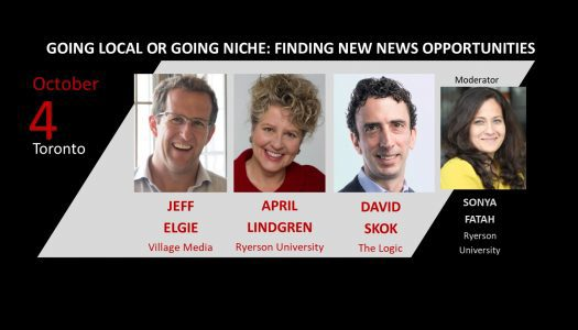 Going Local or Going Niche: New News Opportunities