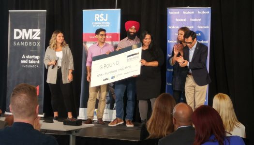 Ryerson and Facebook Digital News Innovation Challenge awards $100,000 to five startups