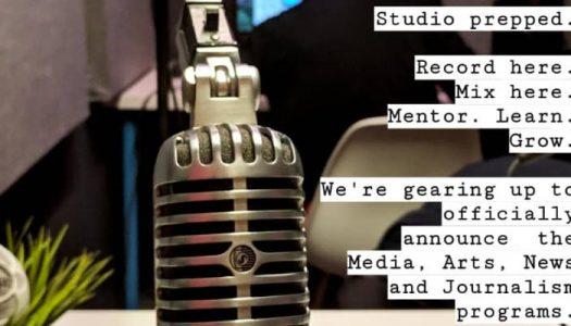 Media, Arts, News & Journalism launch