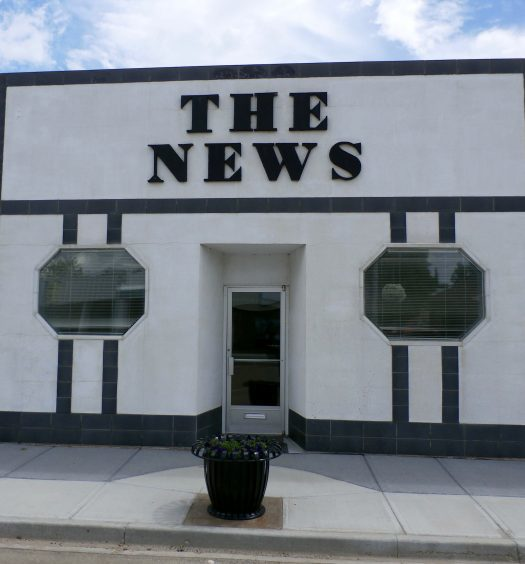 The exterior of the Provost News
