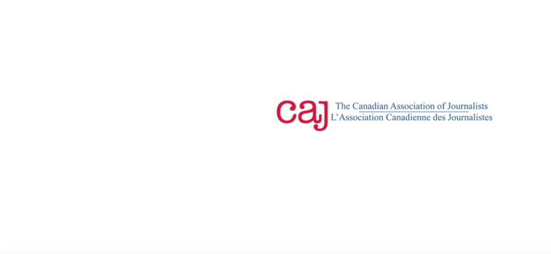 Candian Association of Journalists logo