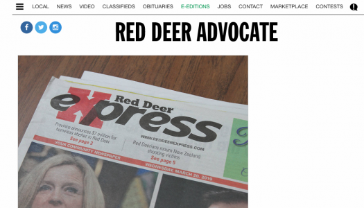 25 laid off at Red Deer Advocate