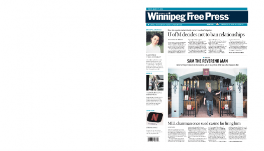 Why faith groups in Winnipeg are funding religious journalism at the Free Press