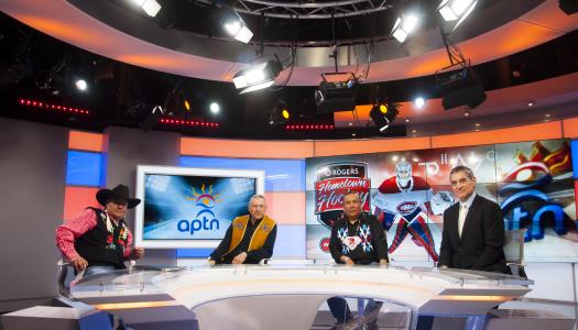 Inside APTN's history-making Cree NHL broadcast