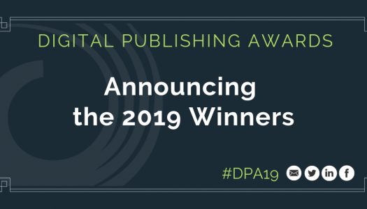 Here are the winners of the 2019 Digital Publishing Awards