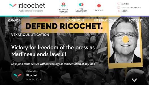 Ricochet Media co-founders on their press freedom win