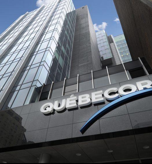 Exterior or Quebecor building
