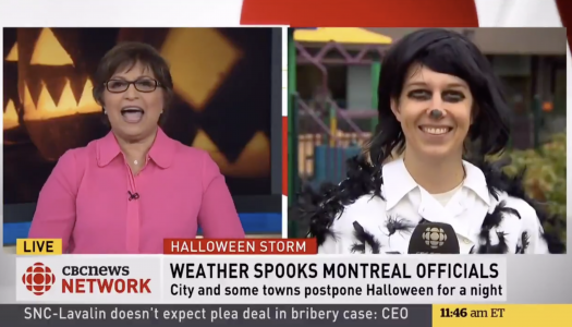Here's how journalists in Canada dressed up for Halloween