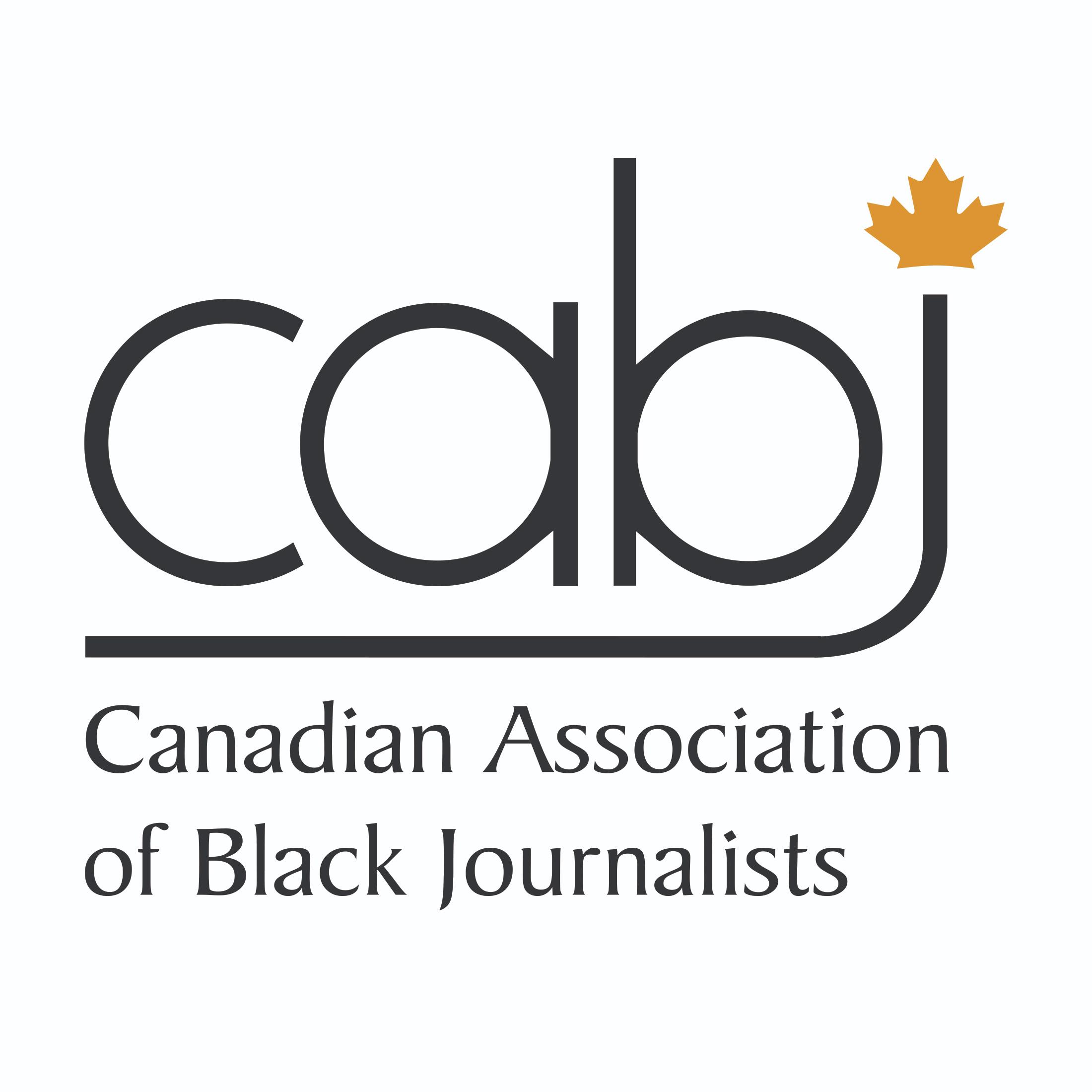 Canadian Association of Black Journalists logo