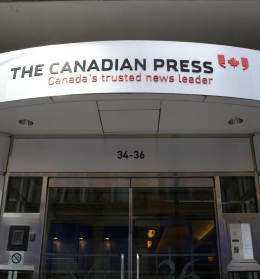 Canadian Press building exterior