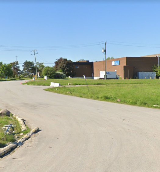Google Street View image of Postmedia production facility in Toronto