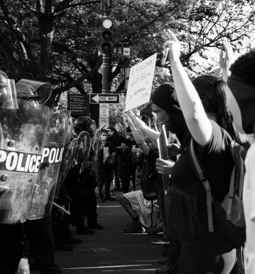Black Lives Matter Protest in D.C. on June 1, 2010