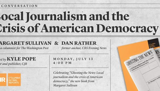Local Journalism and the Crisis of American Democracy