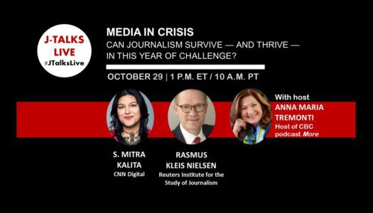 Media in Crisis: Can Journalism Survive – and Thrive – in this Year of Challenge?
